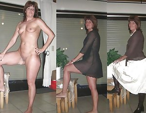 Dressec undressed MILF part 4