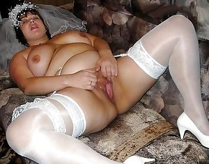 She loves her old hairy cunt filled with cock