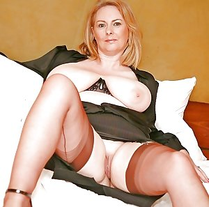 Slutty blonde mature takes two loads on her face
