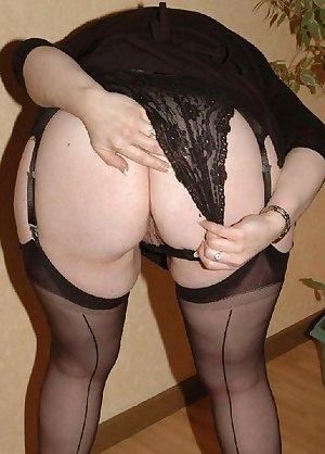 Old fat mature mom - Bubble Butt - BBW