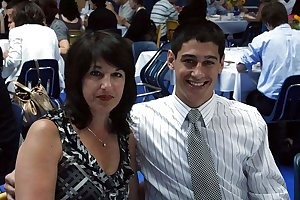 Real mom son's friend couple