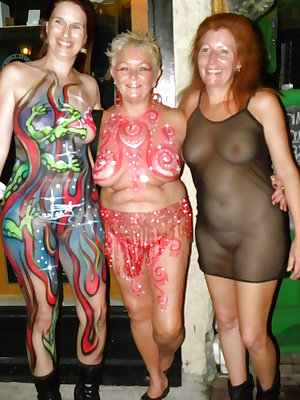 Hottest Milfs & Grannies From Fantasy Fest - Part 2