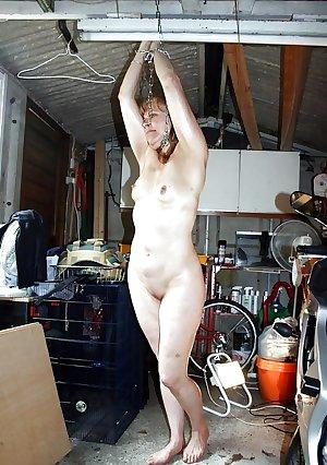 Amateur bondage tied up