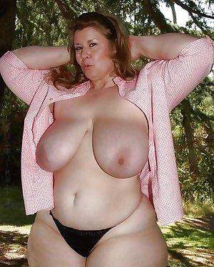 BBW Granny Big Butt - Chubby Plumper Ass - Mature Booty