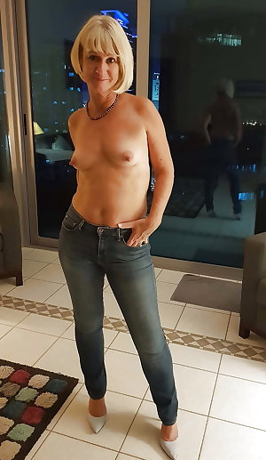 Old mature and pretty tits