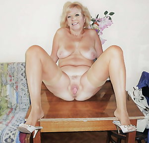 Mature loves her pussy and a fresh throbbing cock