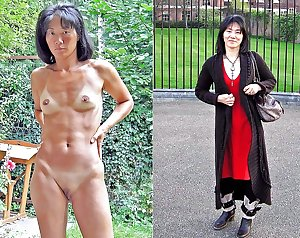 Clothed and Nude 54 Milfs & Matures