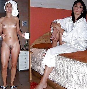 Mature milf dressed undressed 2