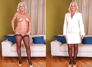 Dressed undressed MILF part 3