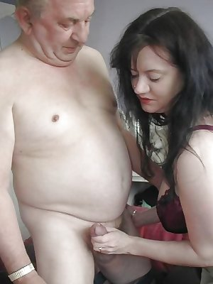 Old Men with Young Women - 5