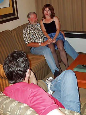 Tish Enjoys Her First father & not his son Session.