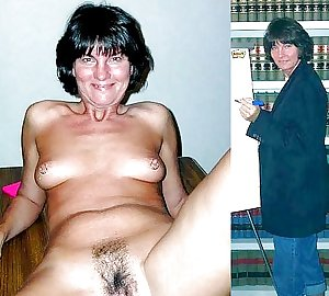 Mature milf dressed undressed 2