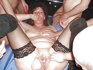 USED SLUT WIVES and SLAG PARTY FUCKING