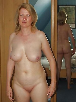 More mature wives and moms posing and getting used