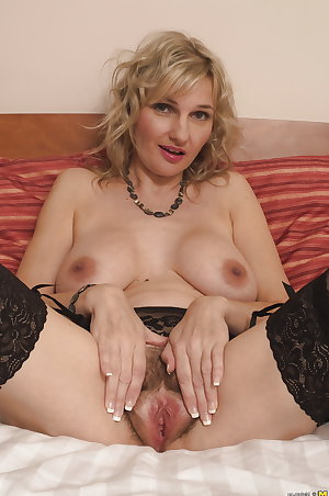 Hot mature MOM with big breast and hairy pussy 3