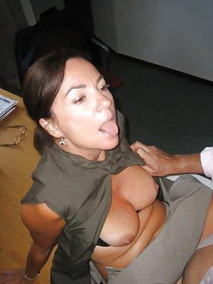 Italian mature sucking and fucking