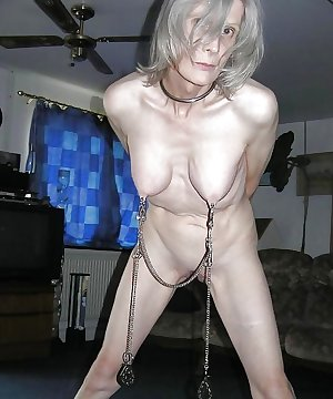 BDSM Mature + BBW tit and nipple torture 02