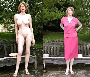 Mature Women Dressed & Undressed 3