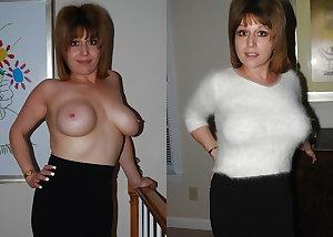 Mature Women Dressed & Undressed 3