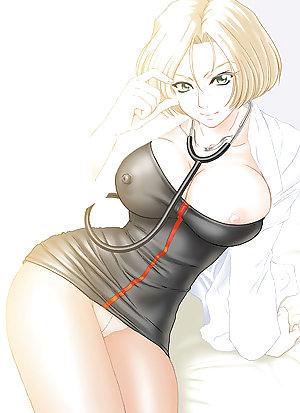 Hentai, Anime, and Video Game Mature Women
