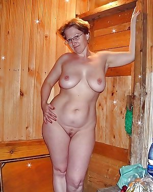 Hairy mature 6 - Saggy tits, boobs